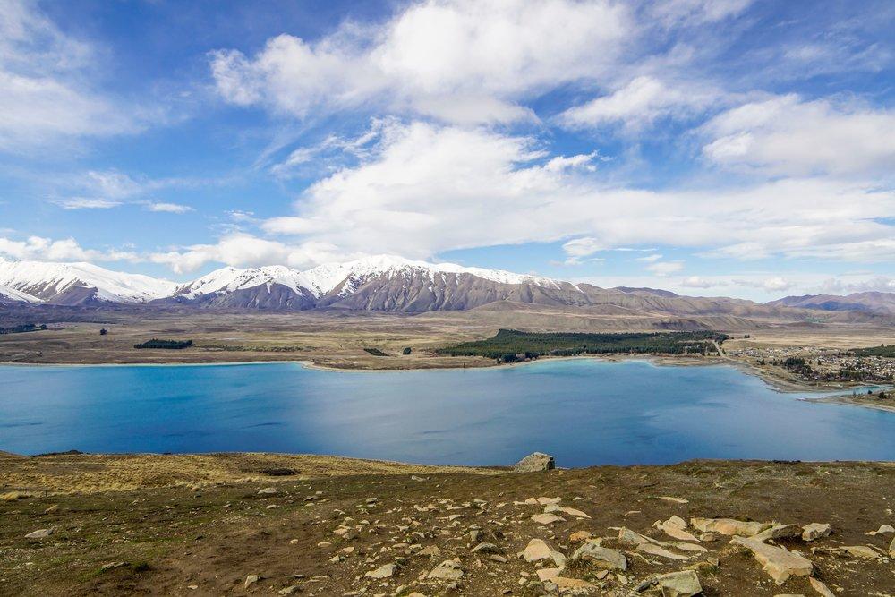 Lake Tekapo from observatory