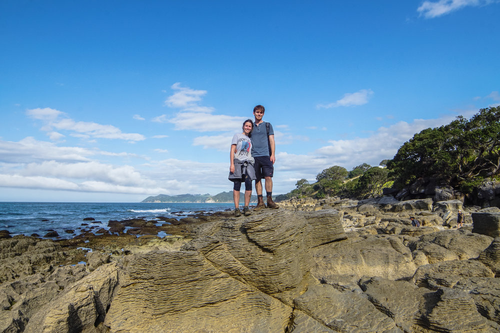 Ryan & I at Waipu Pancake Rocks
