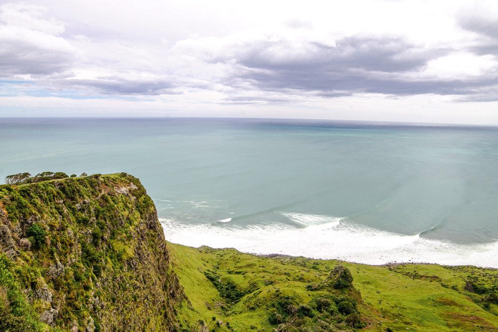 Raglan coastline