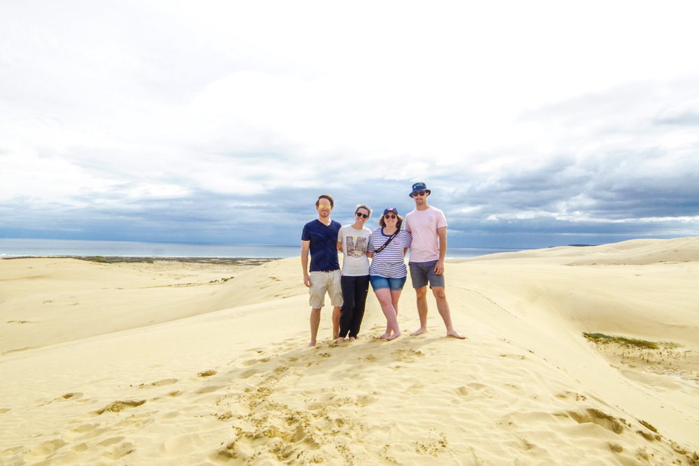 Sand Dunes of Te paki