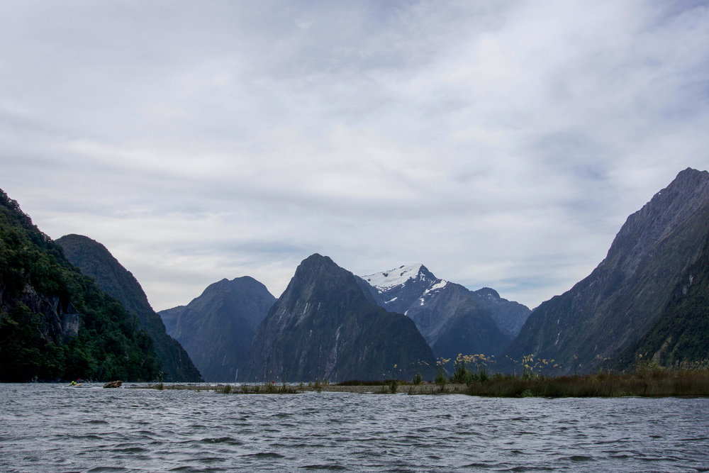Famous view of Milford Sound