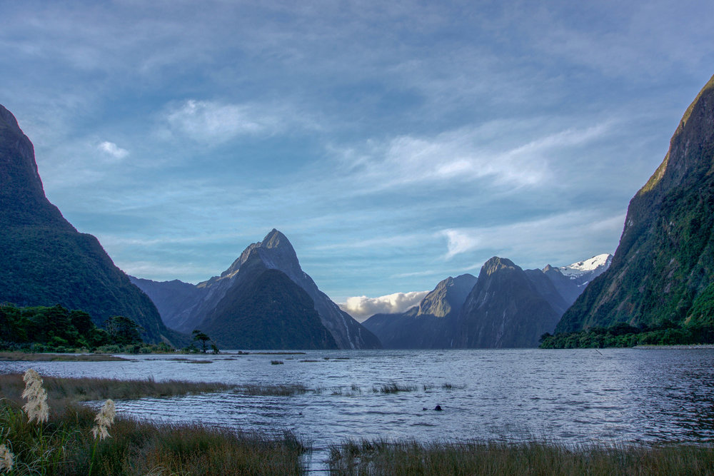 Sunset @ Milford Sound