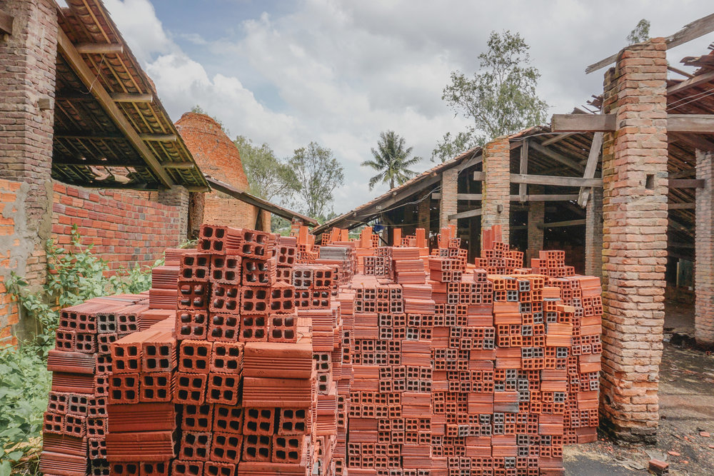 Family-owned brick-works of the Mekong Delta