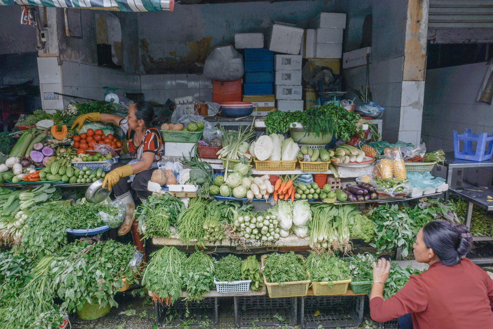 Market of Ho Chi Minh