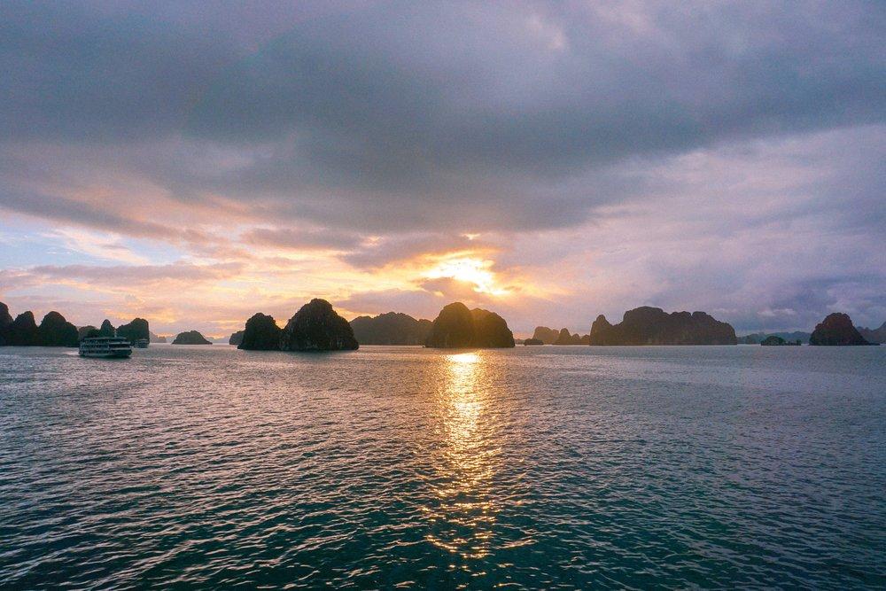 Ha Long Bay Sunset