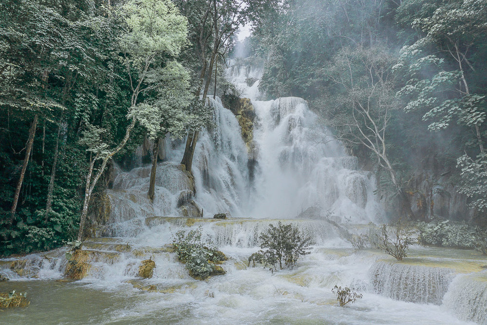 Kuang Si Waterfall - Laung Prabang