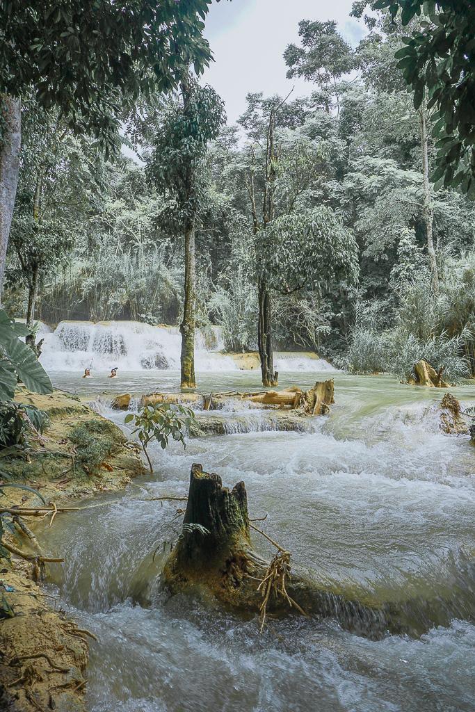 Kuang Si Waterfall - Luang Prabang