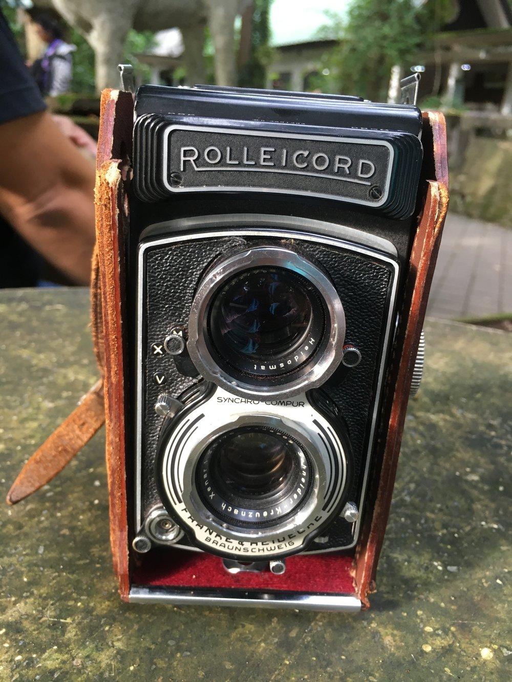 Vintage Rolleicord Camera