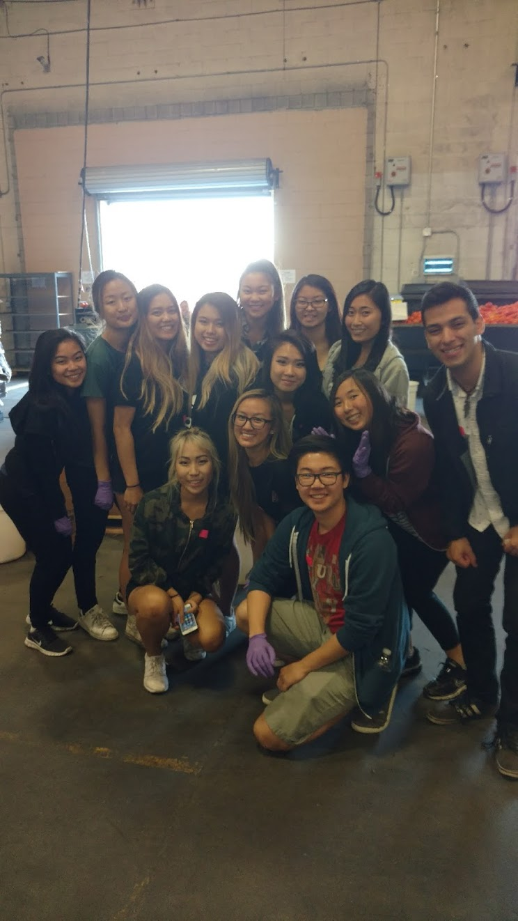 LA Food Bank with Gammas