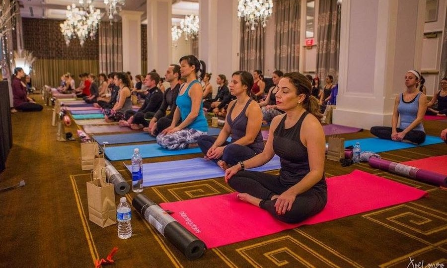 BE WELL PHILLY MAGAZINE - This Dreamy Fitness Event Has Yoga, Puppies, and Some Serious Lululemon Swag