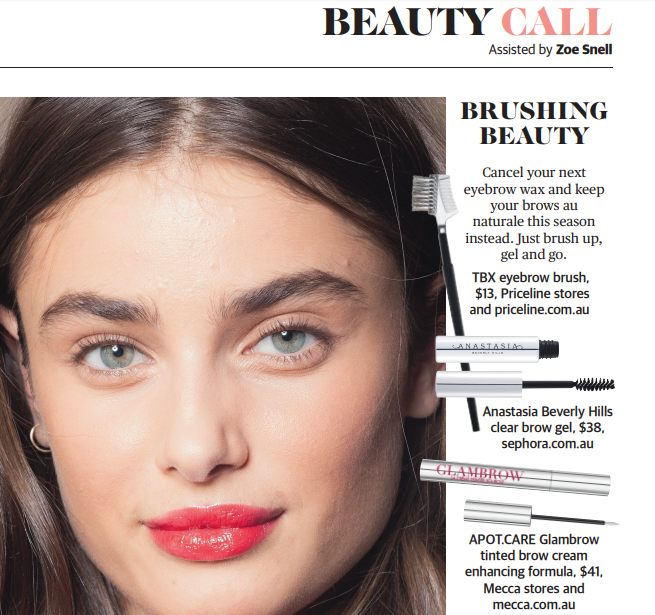 STM Feature - In Perth Now's Sunday Time's Magazine we showcased the BBL Photorejuvenation treatment.