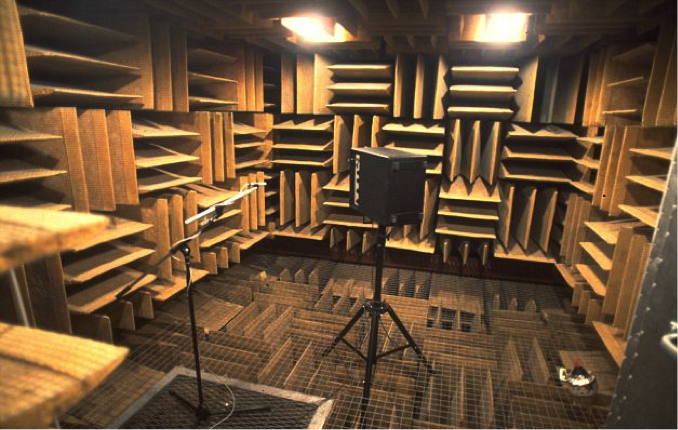 Not Grandsun's anechoic chamber, but similar in size.