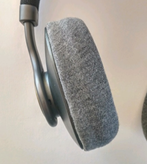 This fabric matched the ID, but hurt the audio