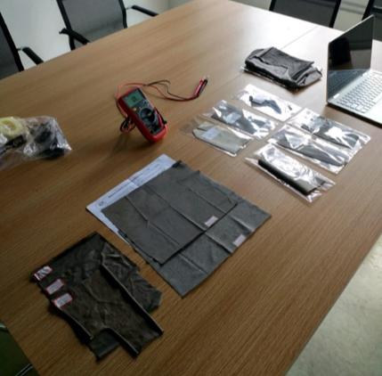 testing conductive fabrics