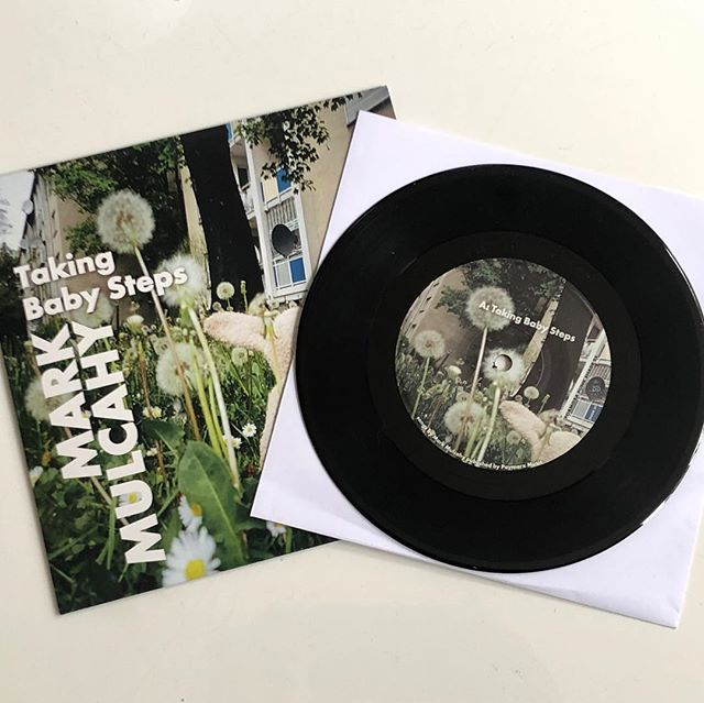 """New 7"""" super limited Japanese single 'Taking Baby Steps' on Formosa Punk Records (300 copies)is out today and available to purchase over on Bandcamp. The b-side is 'Put Me Out of Your Mind' featuring the great J Mascis on lead guitar. Grab a copy now! Link in Bio above 😀 #Formosapunkrecords #thegus #takingbabysteps #jmascis #kenmaiuri #markmulcahy #themezzotintlabel"""