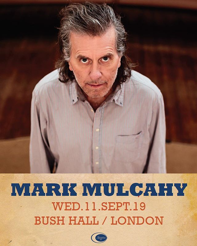 I'm back in London playing the wonderful Bush Hall on September 11. Tickets on sale now 👉Link in bio above #markmulcahy #thegus #bushhall #londongigs #miraclelegion