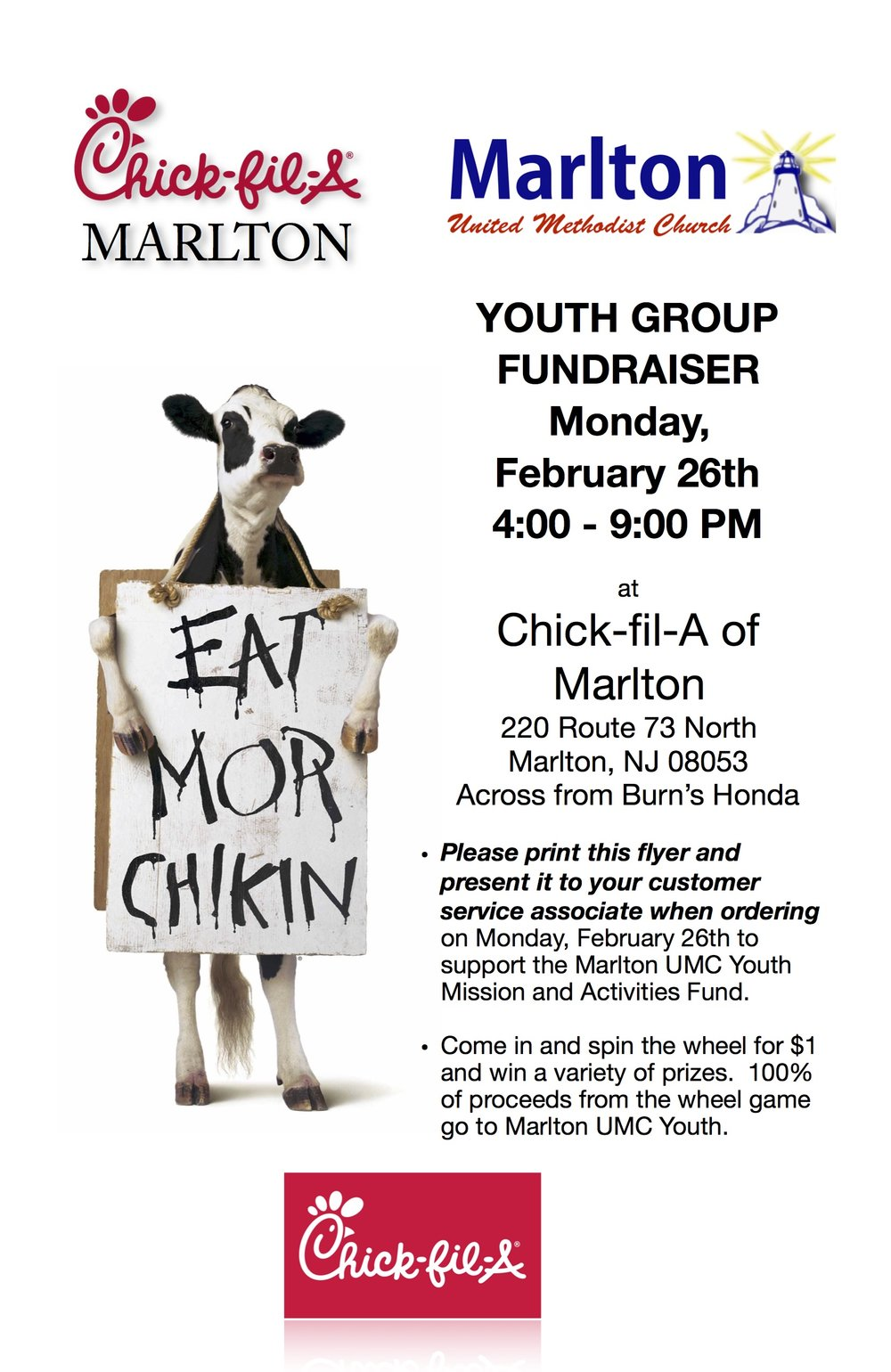 Chick Fil A Spirit Night Flyer Single.jpg