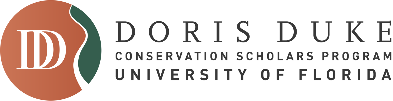 Doris Duke Conservation Scholars at University of Florida