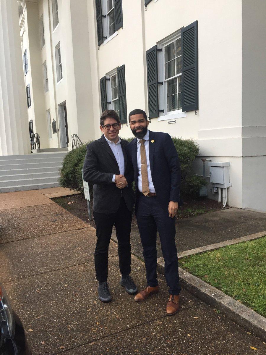 With Jackson, Mississippi Mayor Chokwe Antar Lumumbe