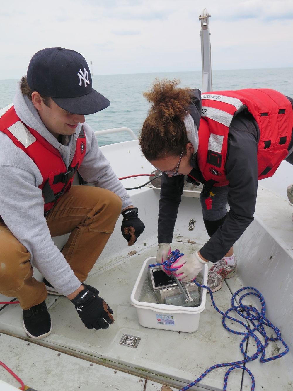 The Weston Family Swim Drink Fish Great Lakes Challenge - Windsor 1.JPG