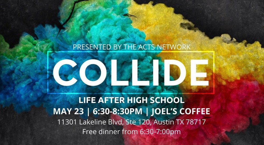 May 23 6:30-8:30 PM Joel's Coffee