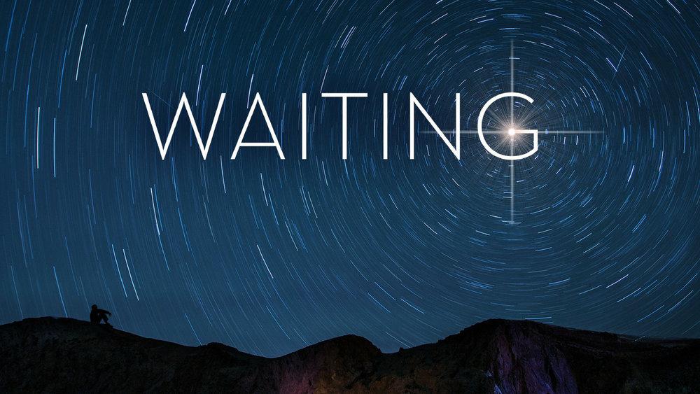 Waiting - Week 1: Waiting for PeaceWeek 2: Waiting for a SignWeek 3: Waiting for ArrivalWeek 4: Waiting Anew