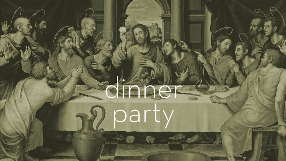 Dinner Party - Week 1: Dinner in the GardenWeek 2: Dinner with JesusWeek 3: Dinner with FamilyWeek 4: The Ultimate Feast with Christ