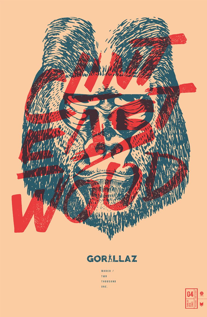 Gorillaz: Clint Eastwood.