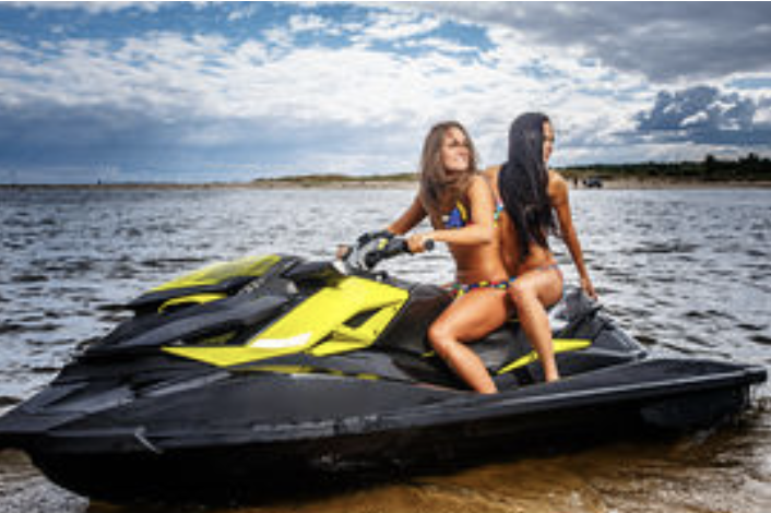 Two Seadoo Jet Skis