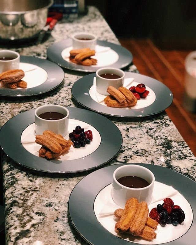 House-made Cinnamon Sugar Churros with Molten Dark Chocolate Dip and Mixed Fresh Berries 📍Charlottetown, PEI . . . . . #dessert #chef #foodie #food #plating #foodinstagram #yachtlife #yacht #luxury #luxurytravel #boat #boatlife #yachting #charter #westport #travel #tasty #delicious #beautiful #awesome #amazing #love