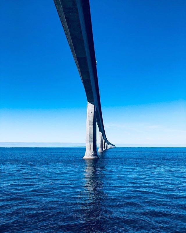 📍Confederation Bridge, Prince Edward Island . . . . . #bridge #confederationbridge #princeedwardisland #newbrunswick #pei #blue #ocean #yacht #yachting #boat #boating #view #photography #luxury #luxurytravel #yachtlife #motoryacht #canada #travel #travelgram #igtravel #travelling
