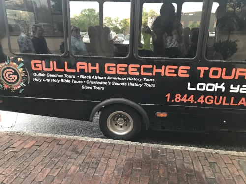 This bus took us all over the city