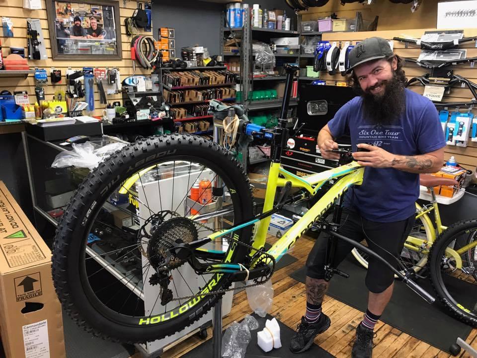 MIke O'Leary. Owner, Tangletown Bike Shop.