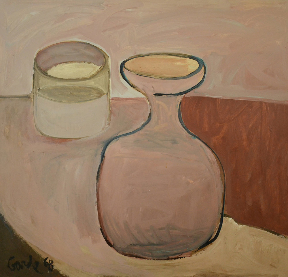 Still Life , 1968. Acrylic on hardboard (masonite),  48 x 48 in. (122 x 122 cm.)
