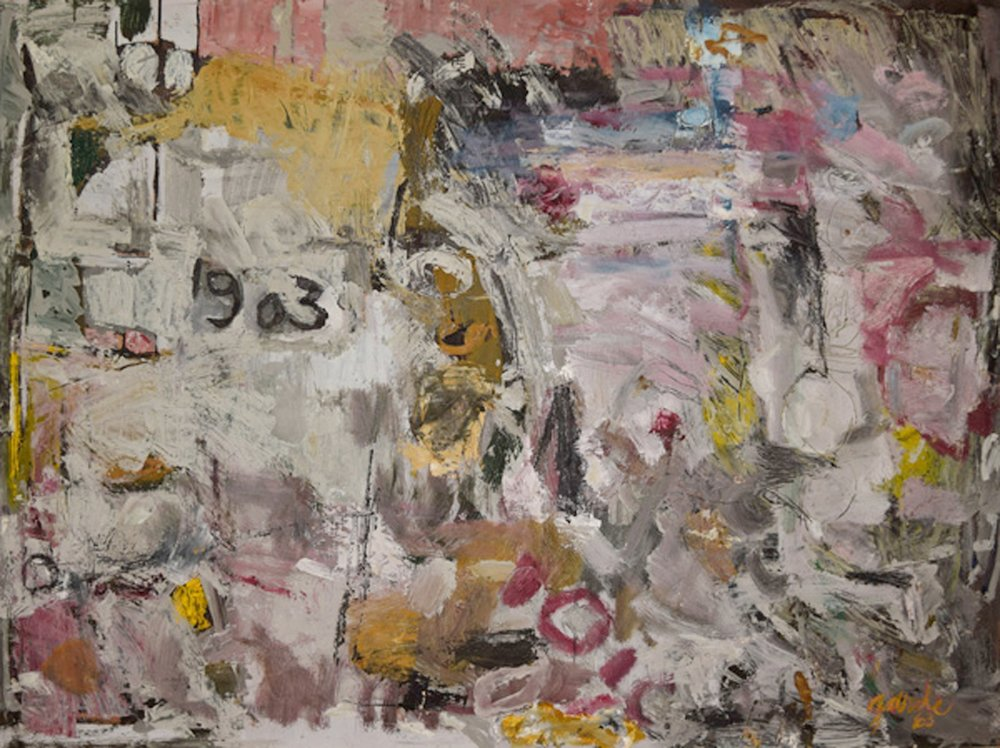 1903 , 1963. Oil on hardboard (masonite). 36 x 48 in. (91.4 x 122 cm.)