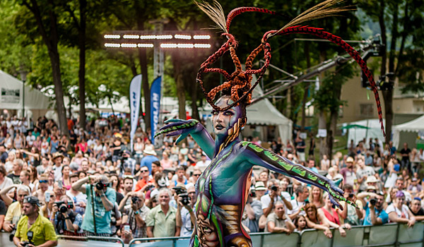World Bodypainting Festival Regal Travel