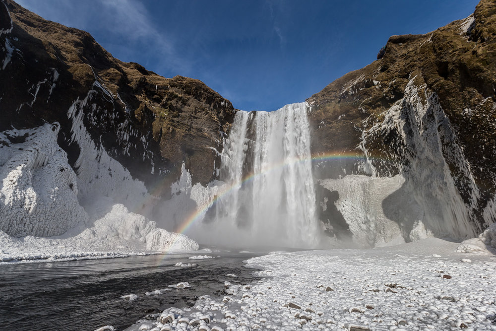 Given just how green Iceland gets, it's not surprising that people wonder about the country's seemingly misleading name. But there is actually a fair amount of ice in Iceland. Iceland is home to the biggest glacier in Europe and a tenth of its surface is covered by ice. - Glacial Ice
