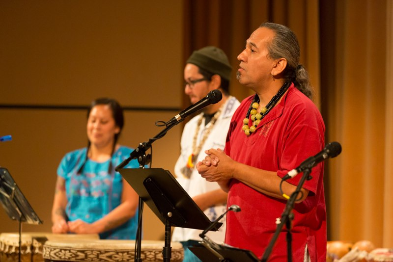 Michael Heralda, Aztec Stories, copyright LORE Producitons, 2013 Scottsdale Dia de los Muertos