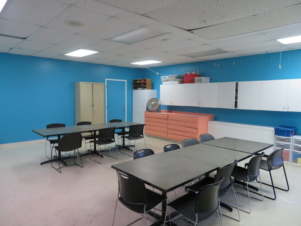 The Art Room is ready for some serious creativity to take place!