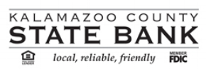 Bronze Sponsor - Kalamazoo County State Bank