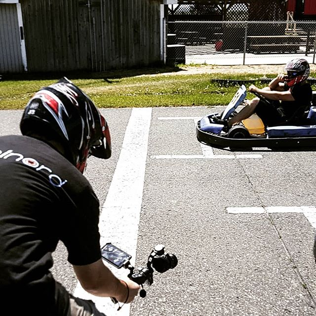 Tournage Karting Orford . . . #video #dji #automn #colors #fall  #kart #drift #instagood #photooftheday #picoftheday #instagram #photography #photo #filmaking #advertising #film #videoproduction #sherbrooke #sherby #sherbylove #cantonsdelest #estrie #pixelnordinc #canada #peoplescreatives