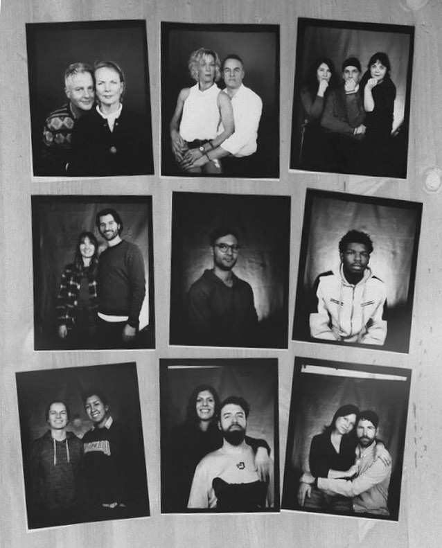 just a few of the box camera portraits from the @ponyridedetroit holiday market. it was a great day of shooting in support of @darkroomdetroit and their mission to keep analog photography alive as well as promoting all forms of photography in the city. • #afghanboxcamera #lambelambe #kamraefaoree #papernegative #abc #darkroom #4x5 #diy #photostudio #photobooth #detroit #analog #analogphotography #blackandwhite #calotype #silvergelatin #print