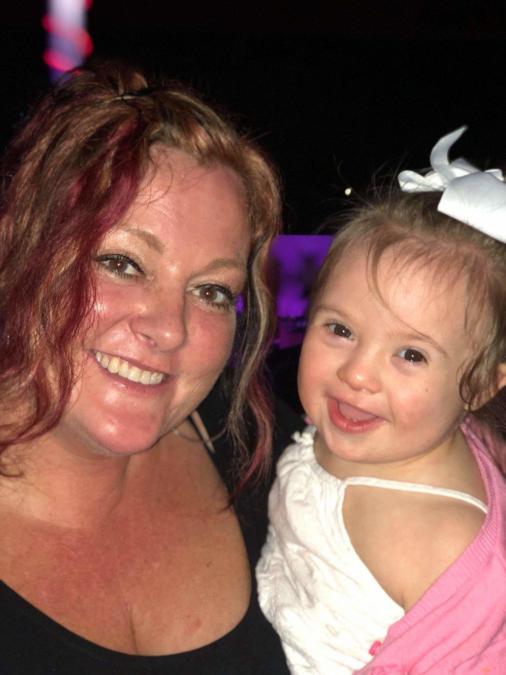 Kate Manduca and her daughter, Hope