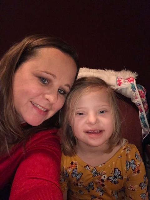 Michelle Hill and her daughter, Allison
