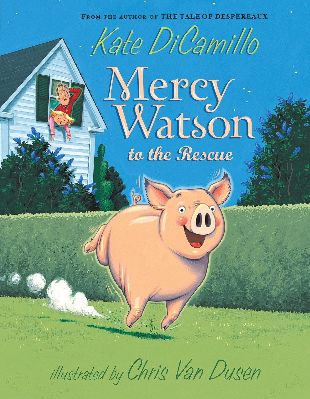 Mr. and Mrs. Watson have a pig named Mercy.Each night they sing Mercy to sleep...    This song makes Mercy feel warm inside, as if she has just eaten hot toast with a great deal of butter on it.   - -taken from Mercy Watson to the Rescue by Kate DiCamillo