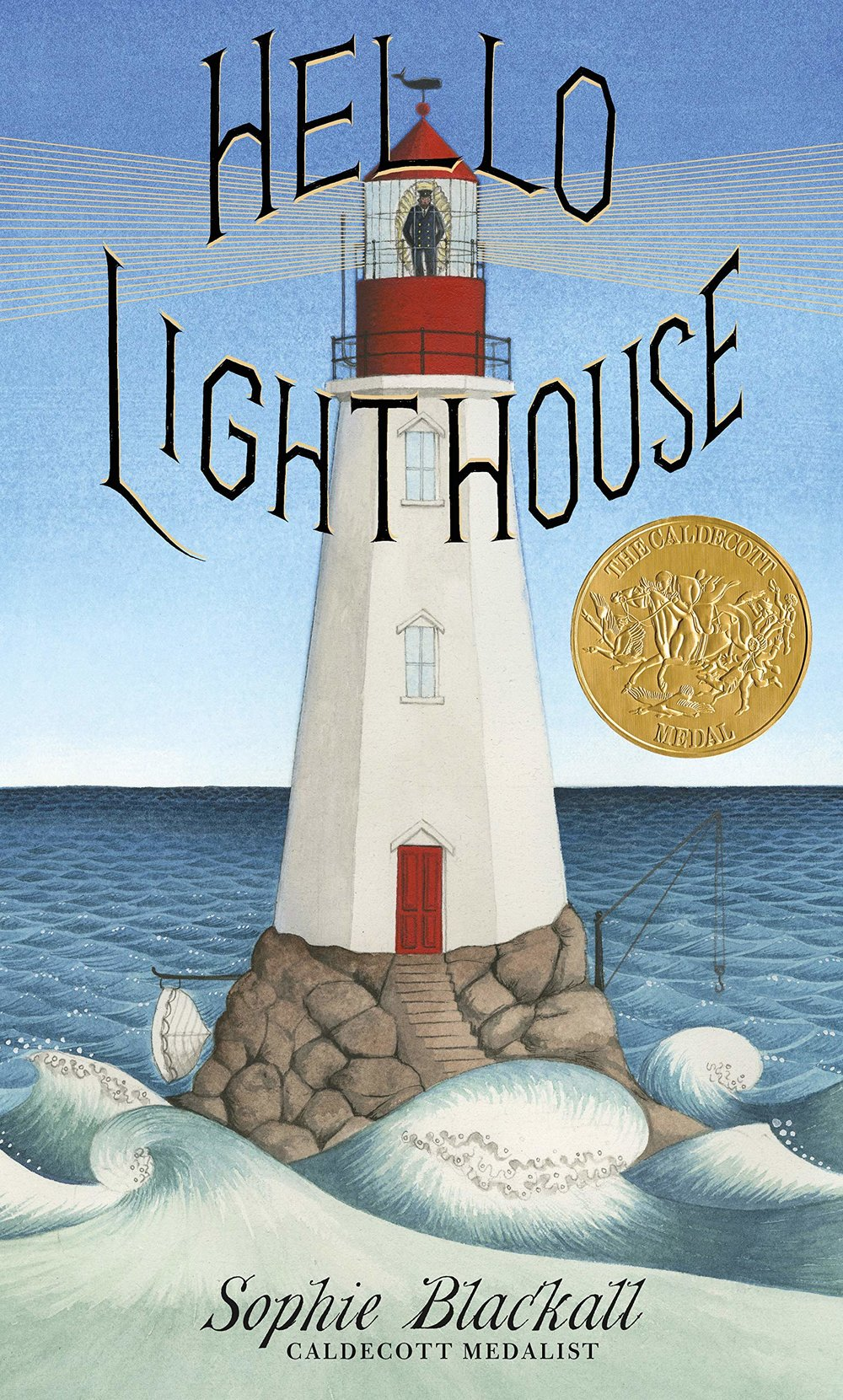 Hello Lighthouse was the official winner this year. The pictures are the kind you want to pour over and sit with before you turn the page. The story is about a lighthouse, its keeper and the passage of time. A worthy winner that you will want to read. -