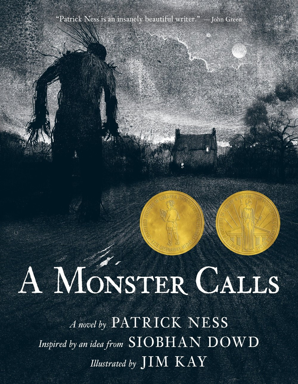 The monster showed up just after midnight. As they do.Conor was awake when it came. - -first sentences of A Monster Calls by Patrick Ness
