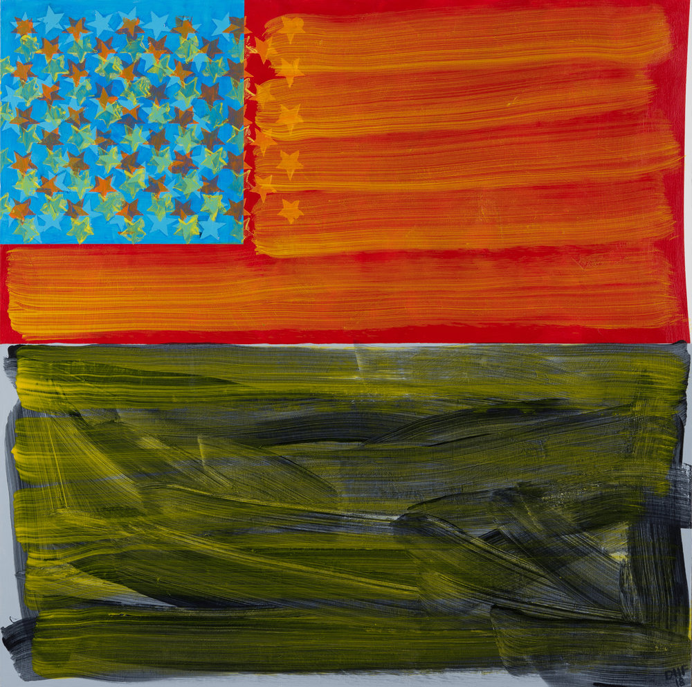 Distorted Flag #2, 2018