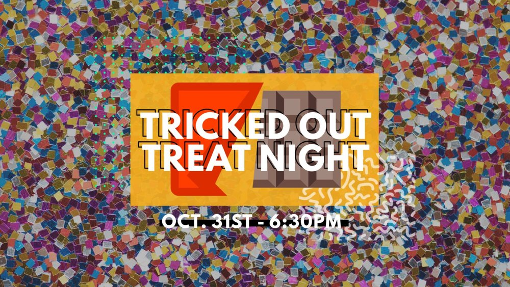 We are having a Special Wednesday Night Service and are bringing out our blacklights for a Tricked out fun night! Show up in All White or Neon Colors for Games, Prizes, Tons of Candy, and lots of Fun! This is a Night you don't want to miss! Make sure to invite your friends! See you there!