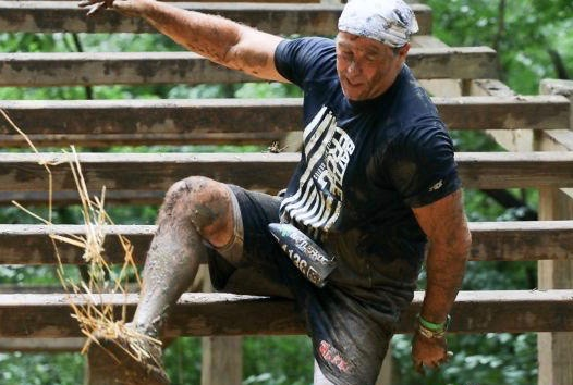 Kidney donor and warrior Scott Mcvey returned to competing at full strength.